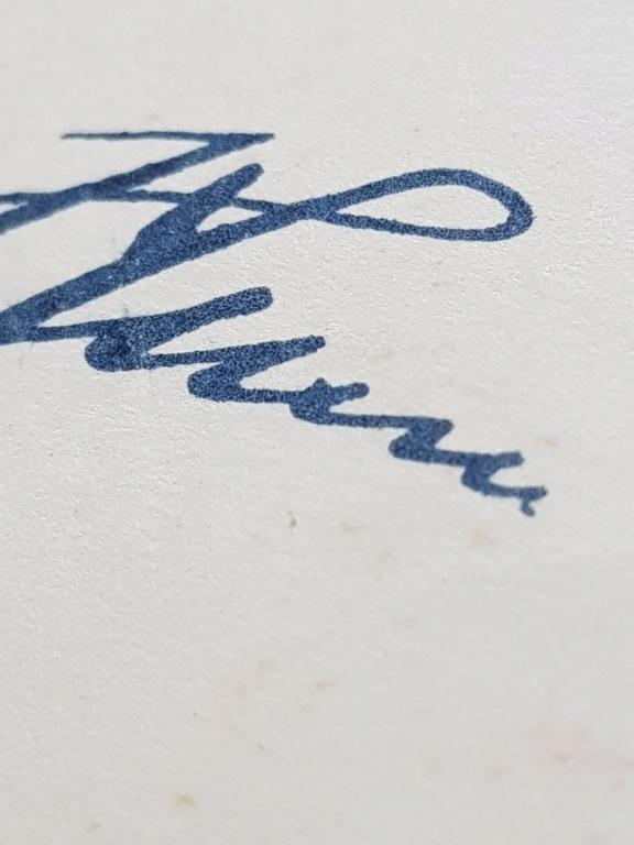Document avec signature de Hitler et  Gőring 20190614