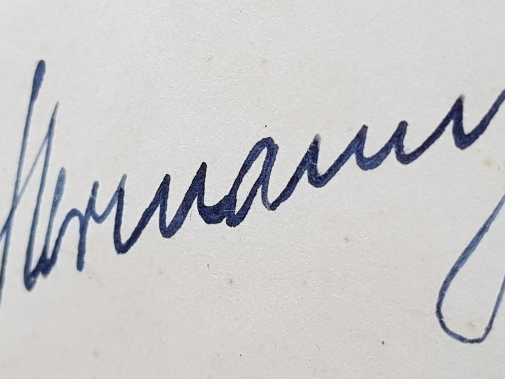 Document avec signature de Hitler et  Gőring 20190617
