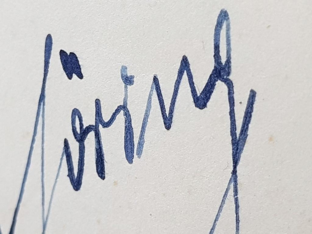 Document avec signature de Hitler et  Gőring 20190618