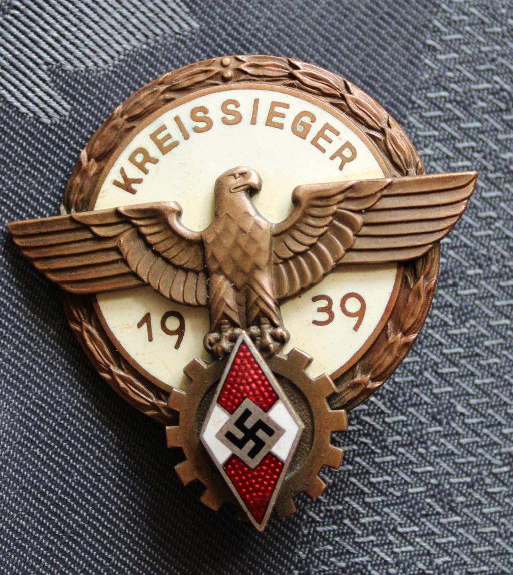 Mes dernières trouvailles en badge medailles allemandes 39.45 20200810