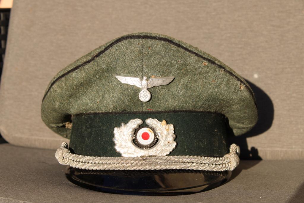 retrouver un officier allemand pionner génie à partir d une schirmmütze ? + nom  20200911