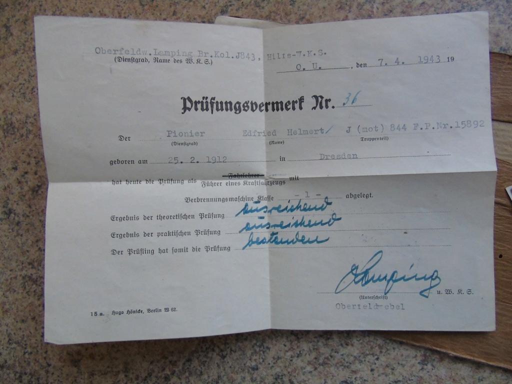 UN SOLDBUCH allemand de 39-45 à TRADUIRE merci Dsc02638