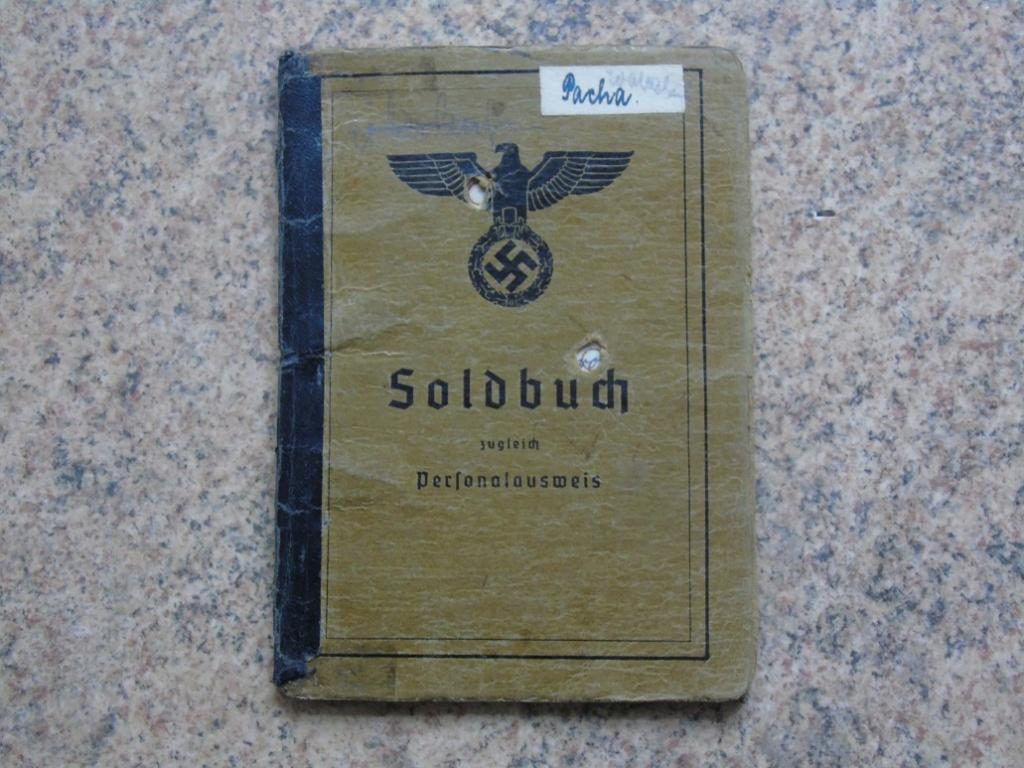 Soldbuch allemand 39-45 d'unmalgré nous à Traduire merci Dsc03131