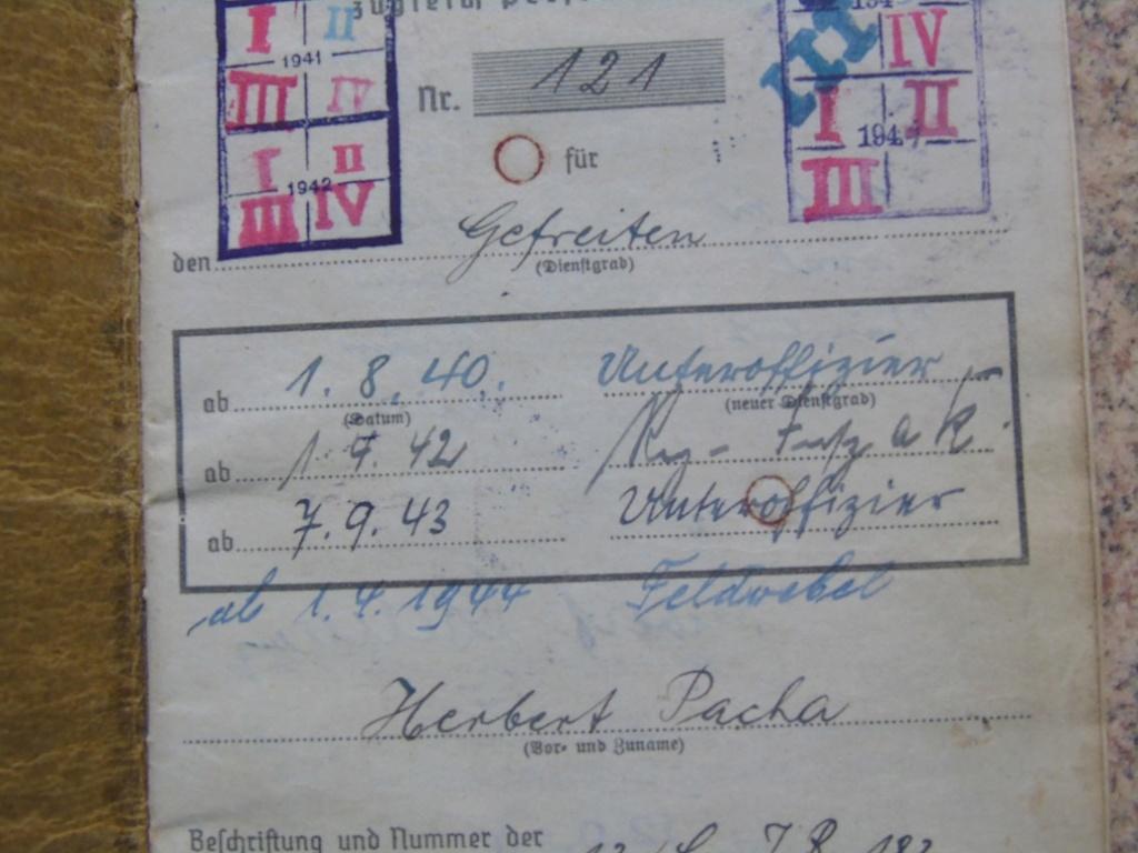 Soldbuch allemand 39-45 d'unmalgré nous à Traduire merci Dsc03132
