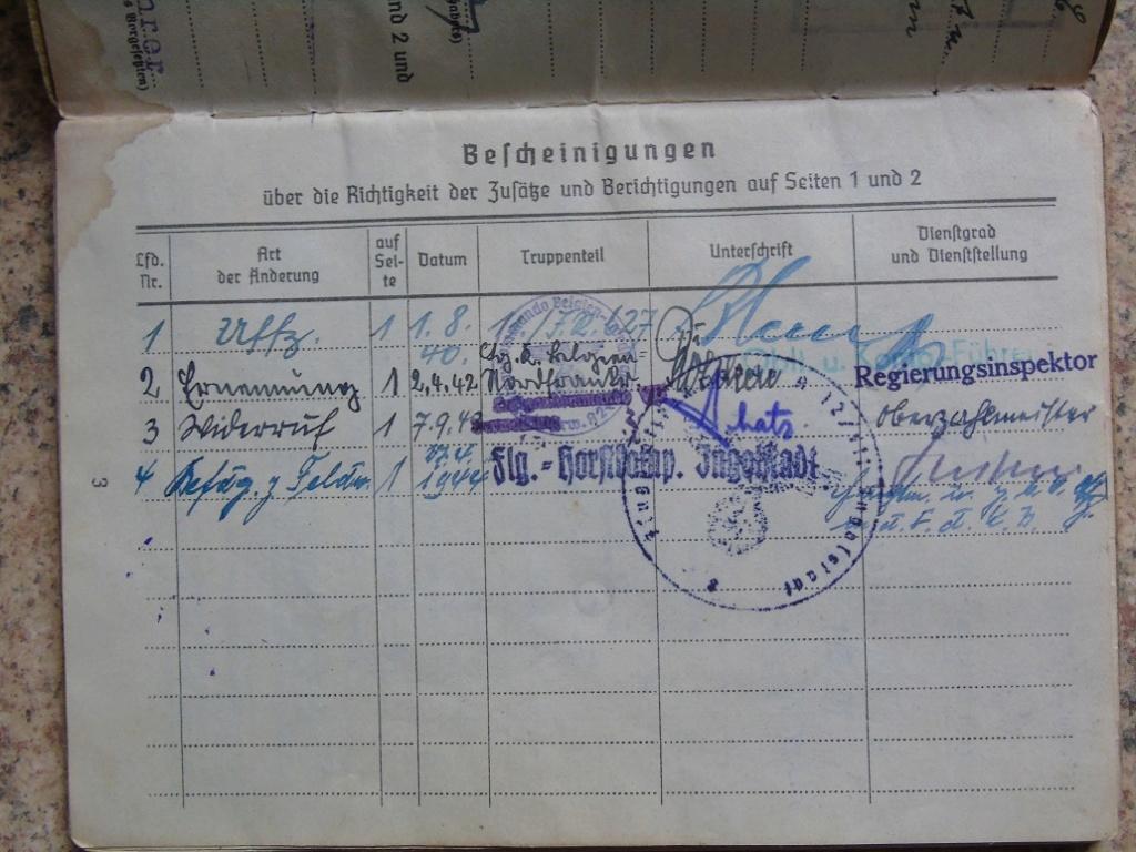 Soldbuch allemand 39-45 d'unmalgré nous à Traduire merci Dsc03136