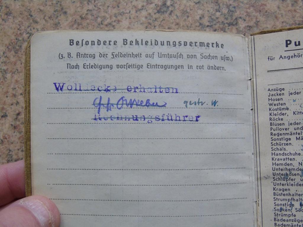 Soldbuch allemand 39-45 d'unmalgré nous à Traduire merci Dsc03141