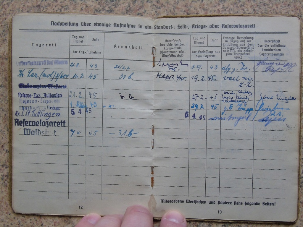 Soldbuch allemand 39-45 d'unmalgré nous à Traduire merci Dsc03143
