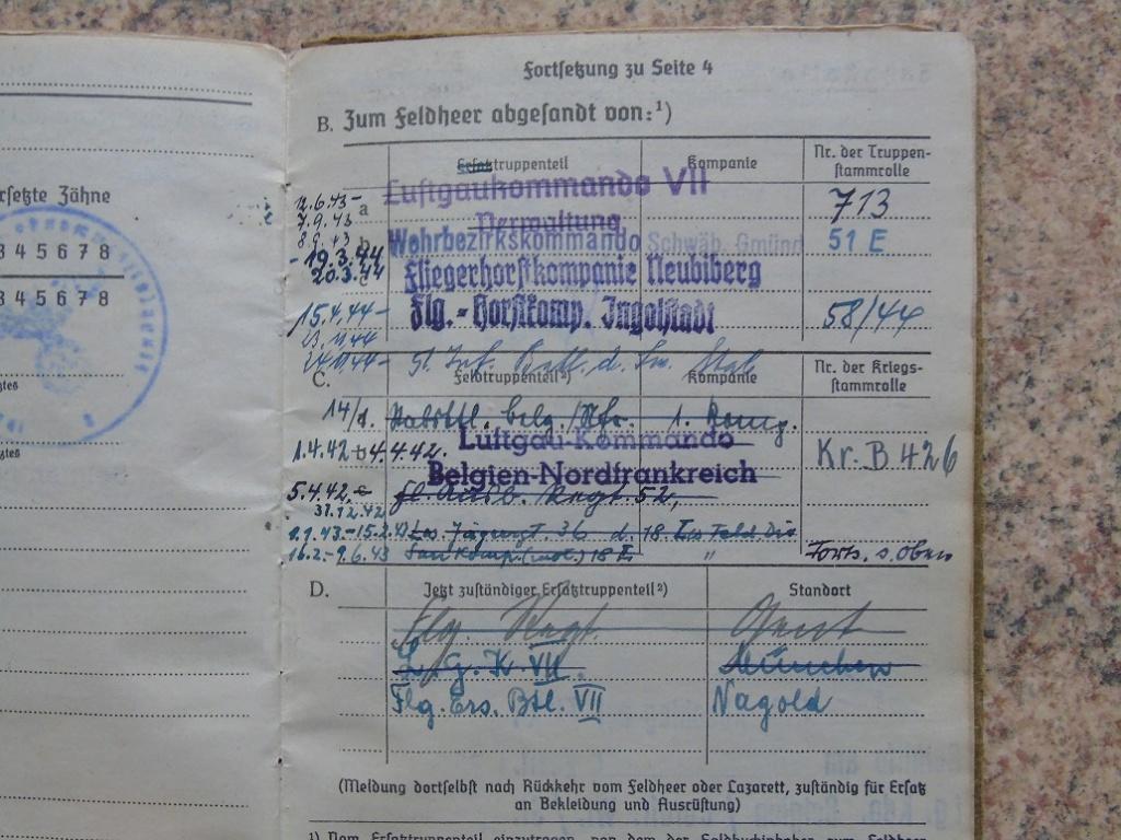 Soldbuch allemand 39-45 d'unmalgré nous à Traduire merci Dsc03147