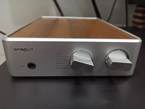 PS Audio Sprout, Morrow Audio Cable & Aaron Loudspeaker (Used)  Img_2029