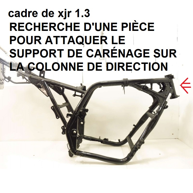 support de carenage Cadre-10