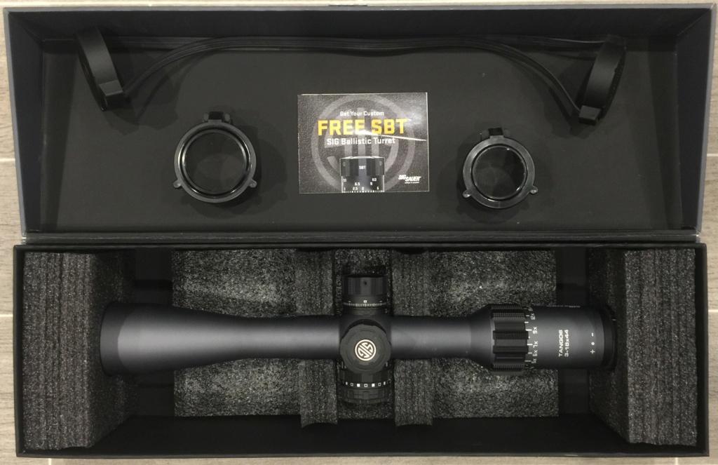 WTS:  Sig Sauer TANGO6 3-18x44mm FFP Scope Tango613