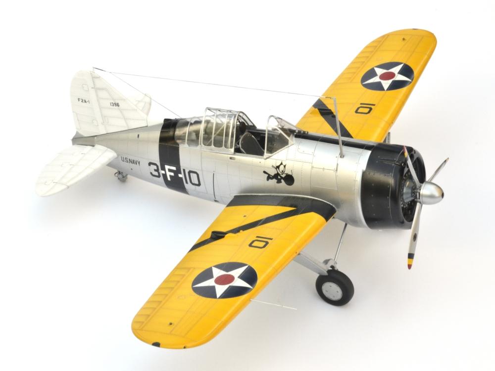 Brewster Buffalo F2A-1 _zfkf242