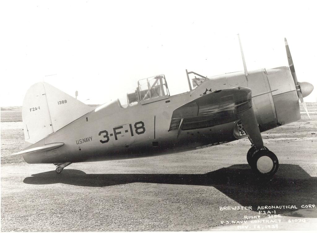 [Année AZUR] Brewster F2A-1 Buffalo Spécial Hobby 1:32 - Page 2 Brewst11