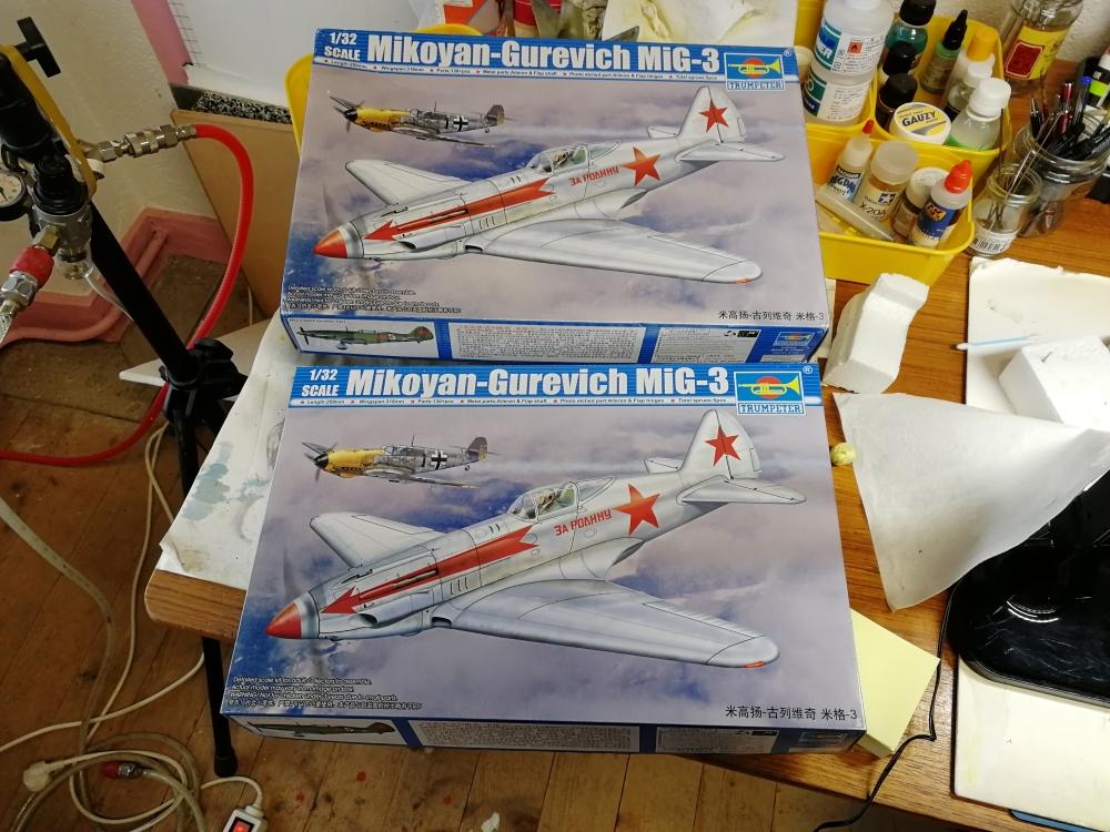 Duo de Mikoyan-Gurevitch MiG-3 [Trumpeter 1/32] Ka_mig19