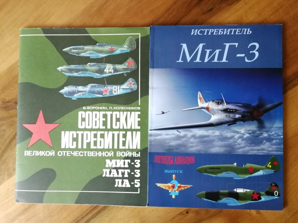 Duo de Mikoyan-Gurevitch MiG-3 [Trumpeter 1/32] - Page 2 Kg_mig21