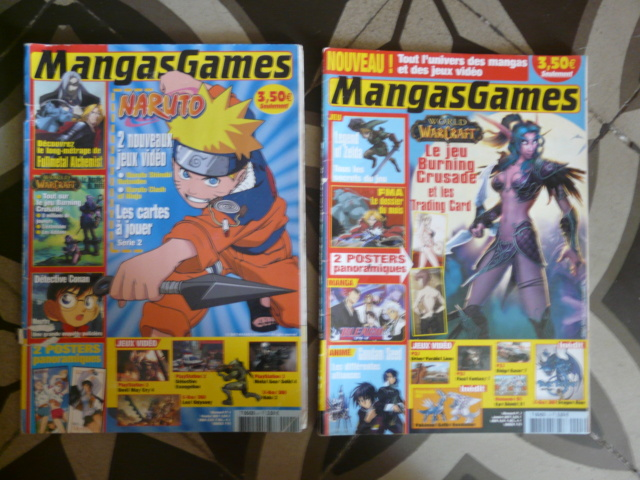 [VDS/ECH] DVDs animation / Revues JV et manga / Lego / et autre P1320587
