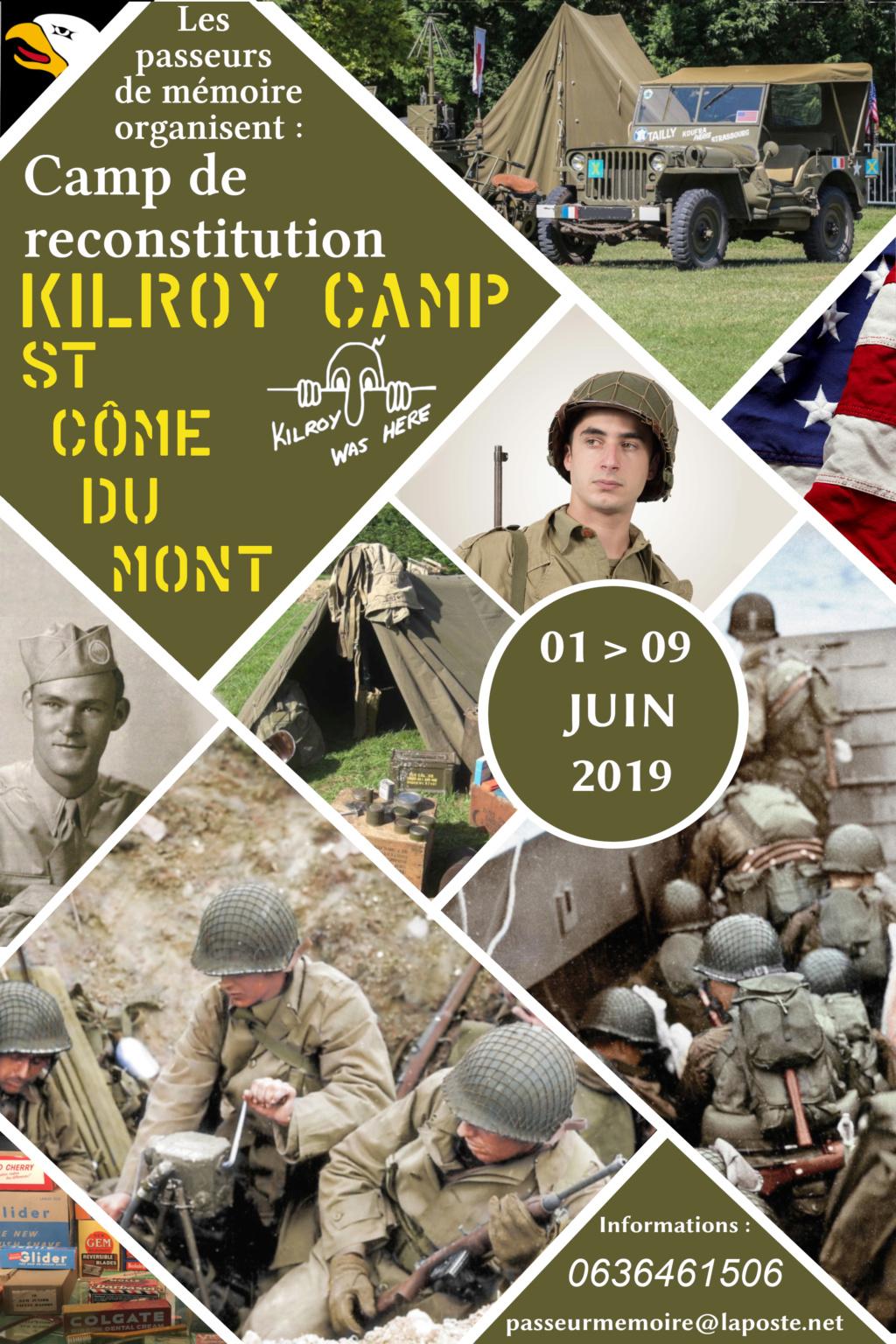 Camp de reconstitution US St Côme du mont du 1er au 9 juin Final10