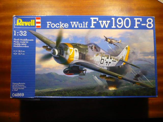 FW 190 F8 Revell 32 Lt Konrad Pingel 7/SG 2 Ploesti Avril 44 P1150101