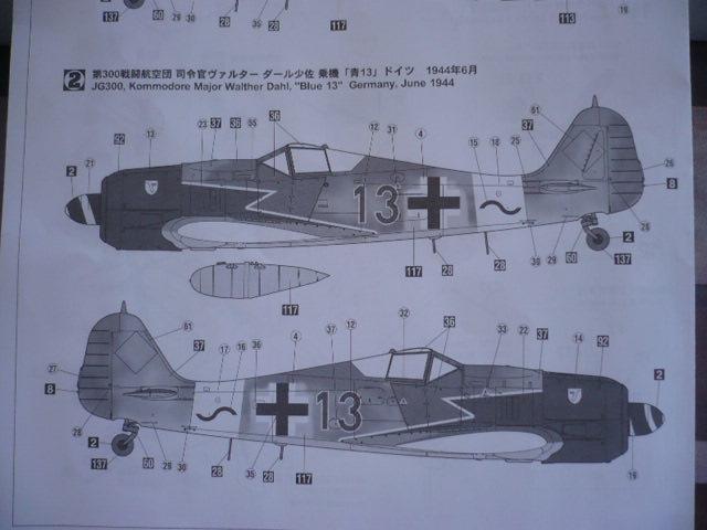 Fw 190 A8/R8 Obst Walter Dahl P1160135