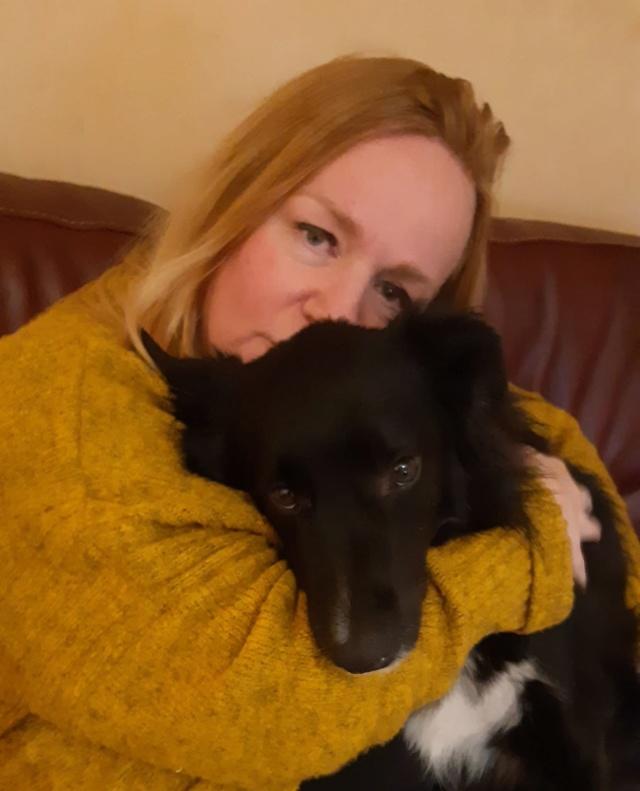 BELLA (ex ESTELLE) - femelle croisée Border Collie de taille moyenne adulte, née février 2018  (PASCANI) - REMEMBER ME LAND - Adoptée par Sandrine (95) Estell16