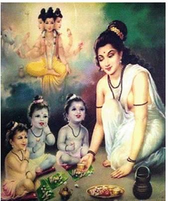 Il Nirvana in terra secondo le antiche scritture Upanishad Anasuy10