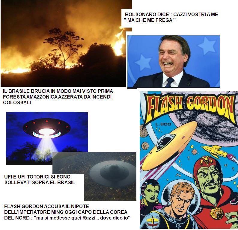 Il Brasile, incendio colossale Brasil10