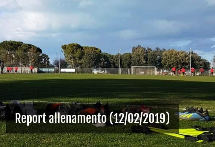 Lavoro Report allenamenti 12/02/2019 Receiv14