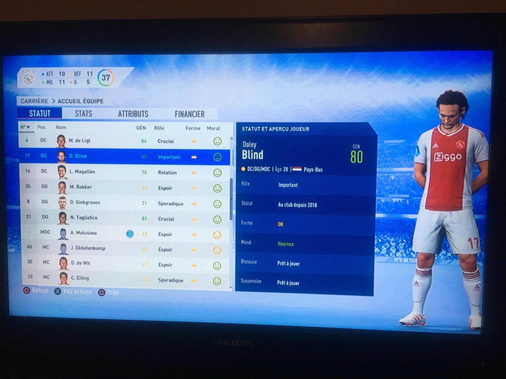 [FIFA 19] Ajax Amsterdam, retour du Football Total ? 54258110