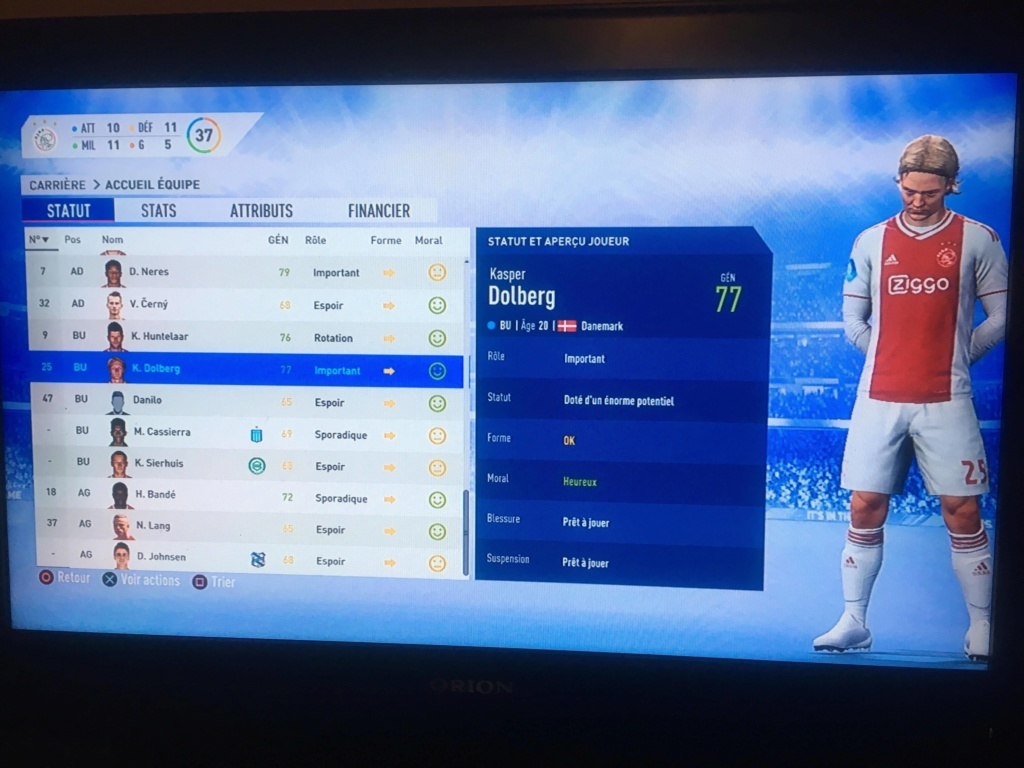 [FIFA 19] Ajax Amsterdam, retour du Football Total ? 54350210