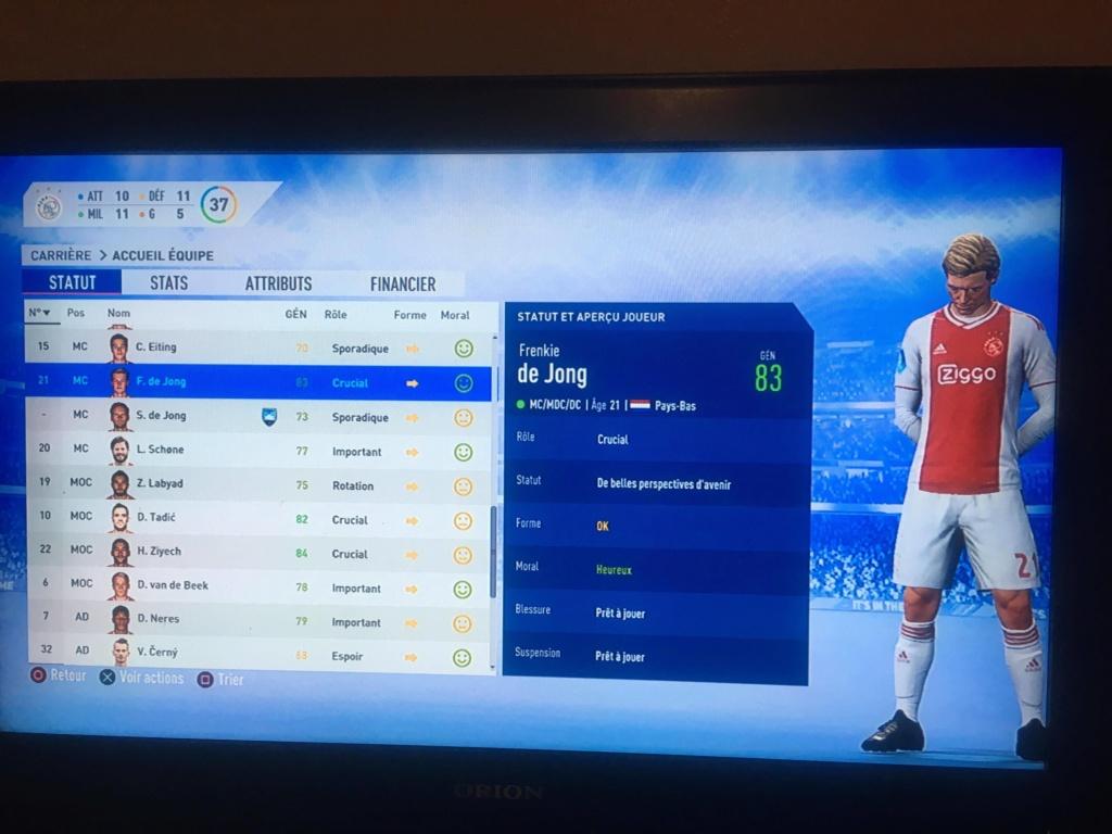 [FIFA 19] Ajax Amsterdam, retour du Football Total ? 54433510