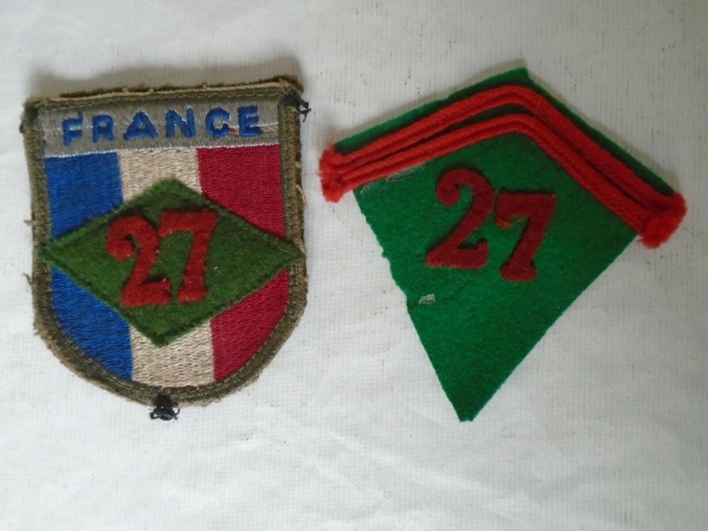 un très beau lot d'insignes et d'écussons français 27_tra10