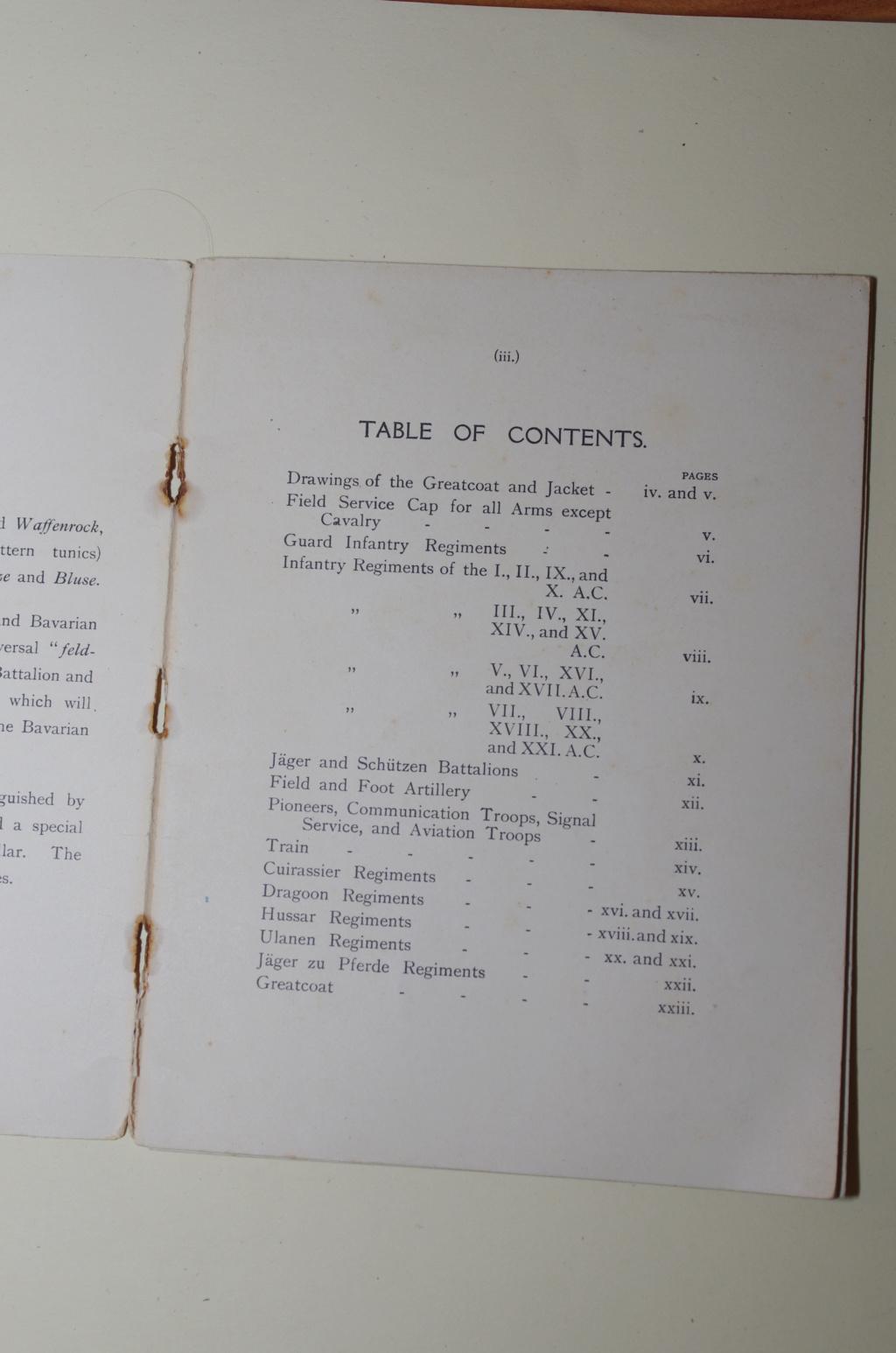 Livret allemand 1917 pour identification Armée Française Ik5m6410