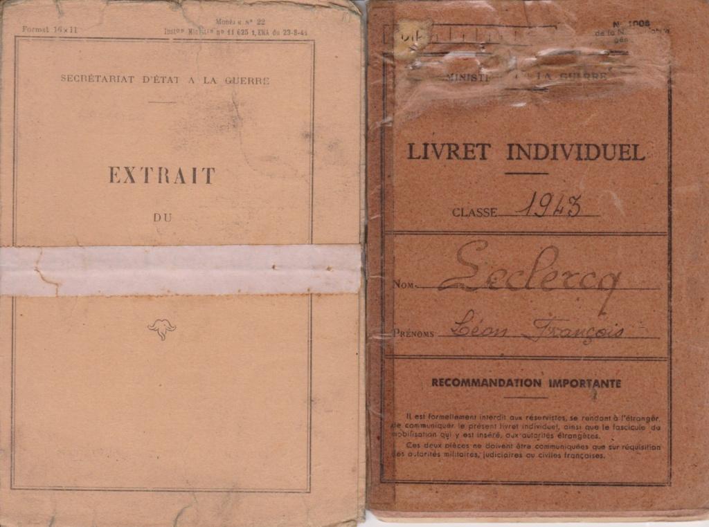 Le livret individuel (militaire) Type Armée d'armistice (Régime de Vichy) Livre_11