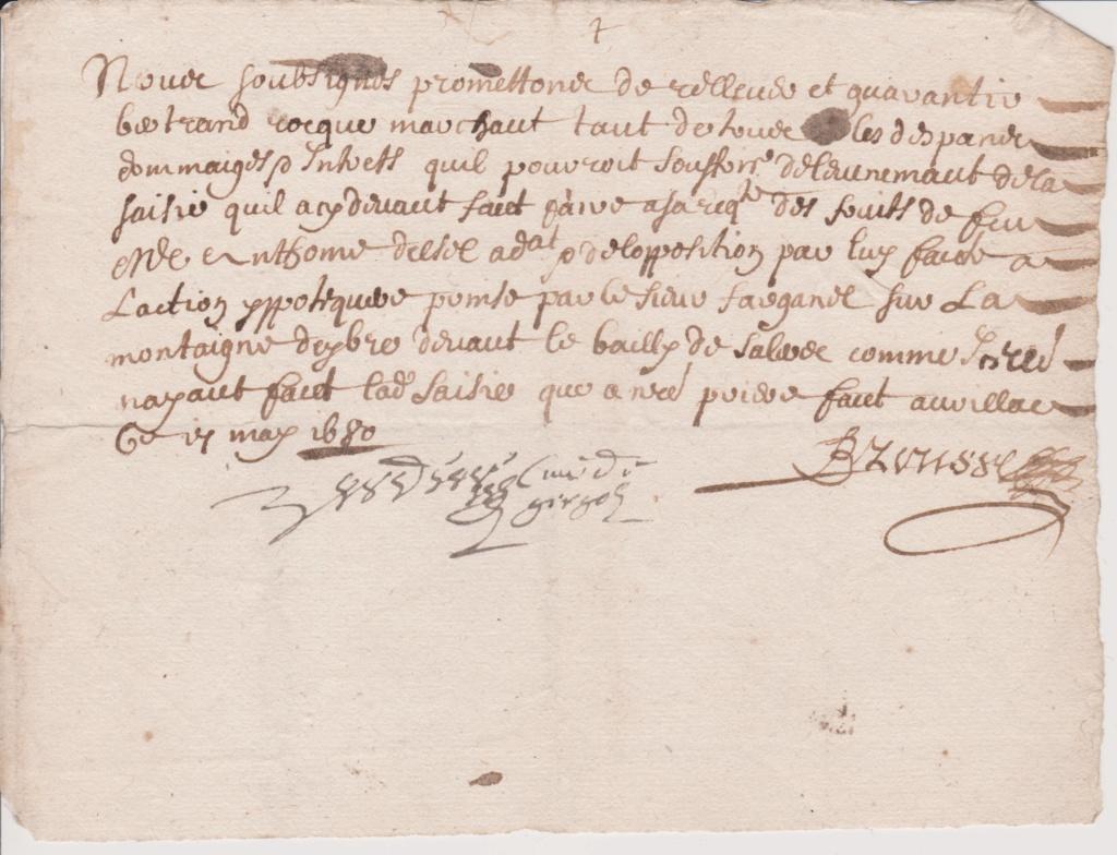 Estimation Documents papiers anciens régime sur Montpellier et Montauban + Conge Numzor17