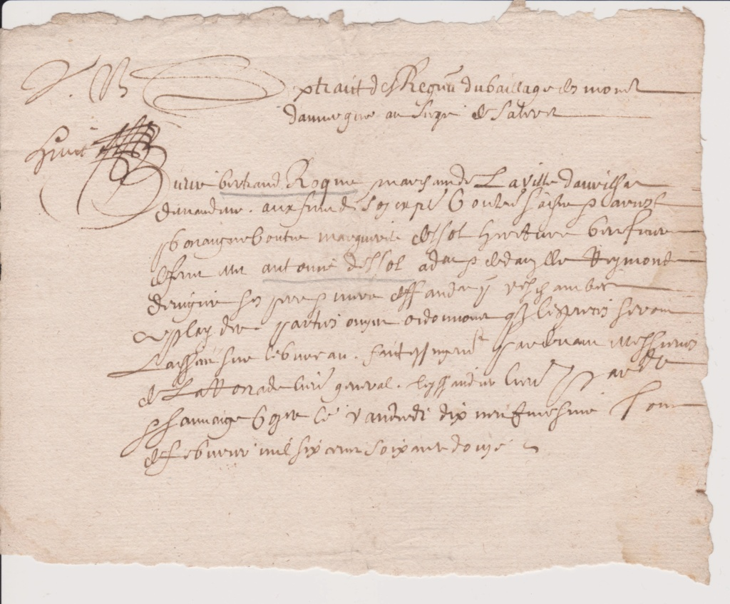 Estimation Documents papiers anciens régime sur Montpellier et Montauban + Conge Numzor18