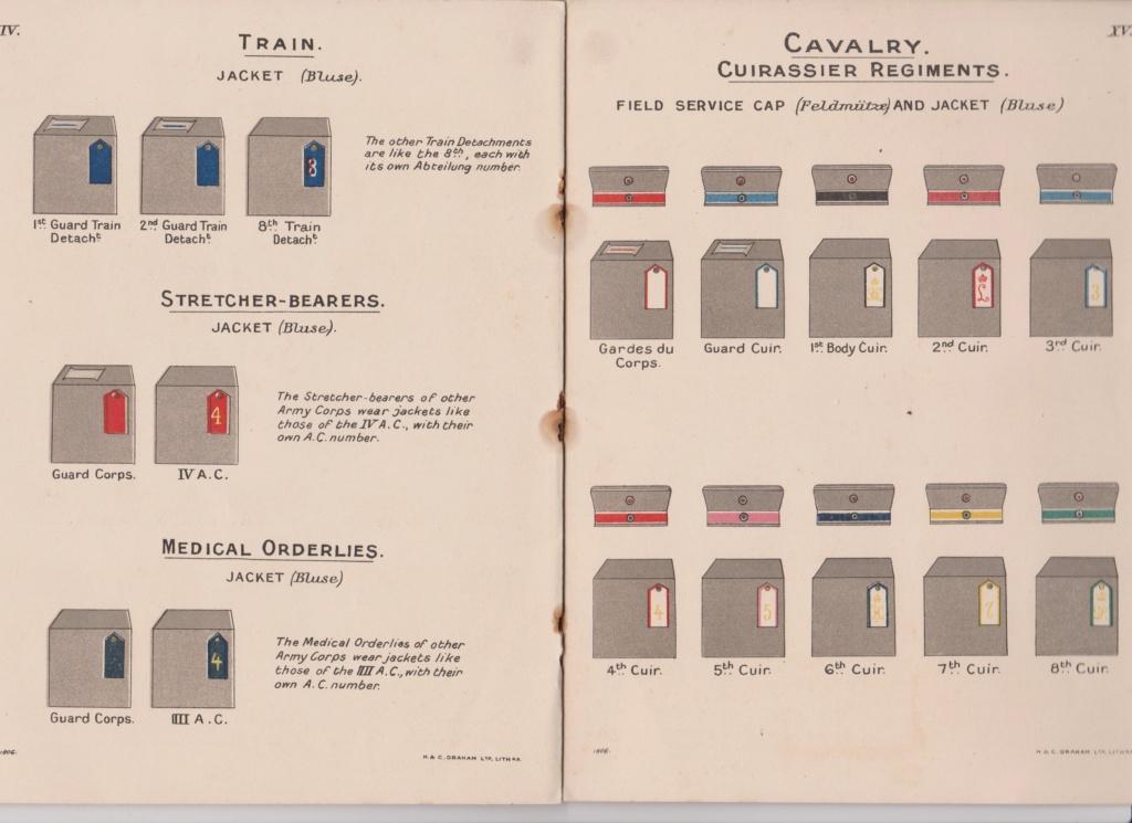 Livret allemand 1917 pour identification Armée Française Numzor23