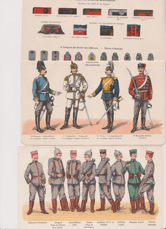 Livret allemand 1917 pour identification Armée Française Numzor25