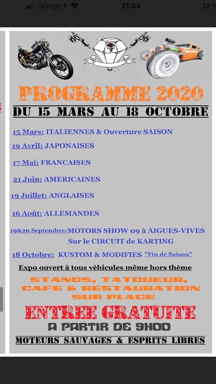 Rassemblement mensuel FOIX 09 ! FOIX motors show - Page 2 Img_3910