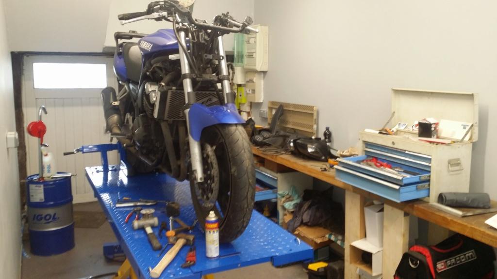 Ma petite entreprise ....   Creation d'un Atelier/garage moto 20190213