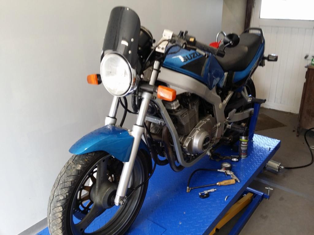 Ma petite entreprise ....   Creation d'un Atelier/garage moto 20190314