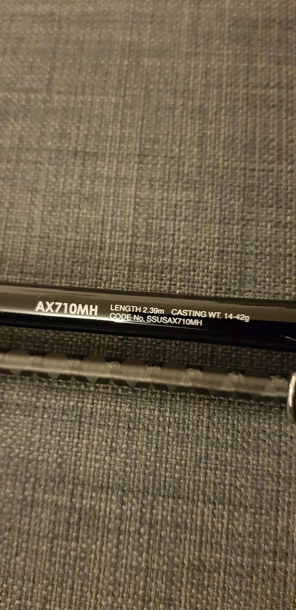 [Vendo-Scambio] Shimano Sustain AX710MH 14-42 gr 20190117