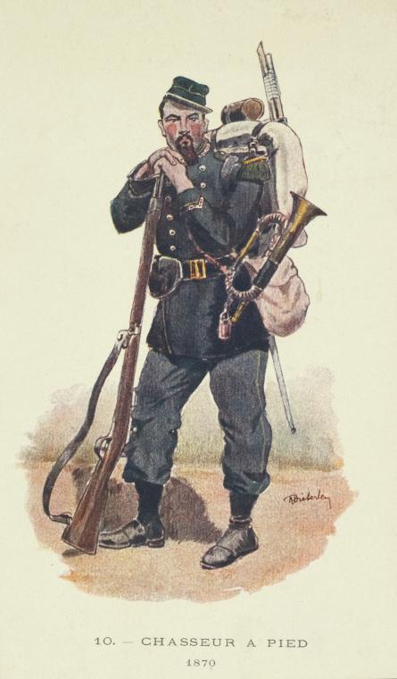 Chasseur à pied 1870 (gagné au dernier concours du forum) Chasse10
