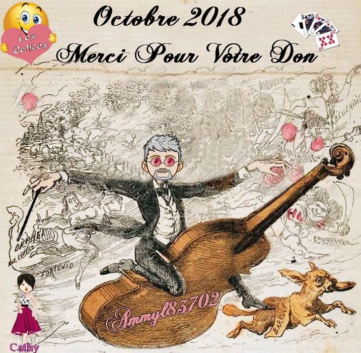 TROPHEES DONATEURS DU MOIS D'OCTOBRE 2018 Ammyl814