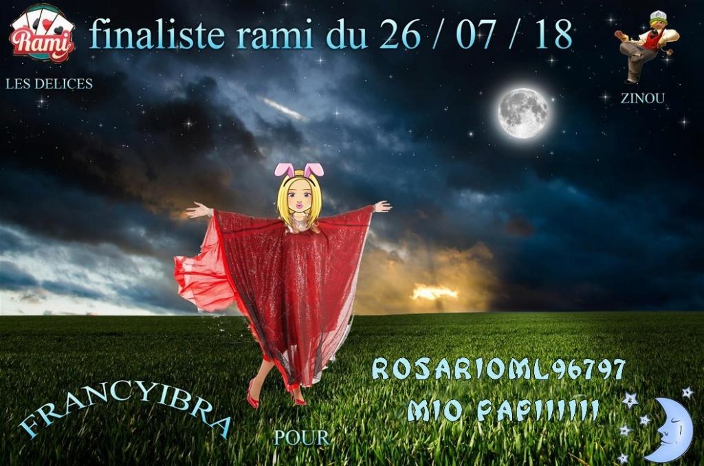 TROPHEES DE RAMI DU 26 JUILLET 2018 Franci11