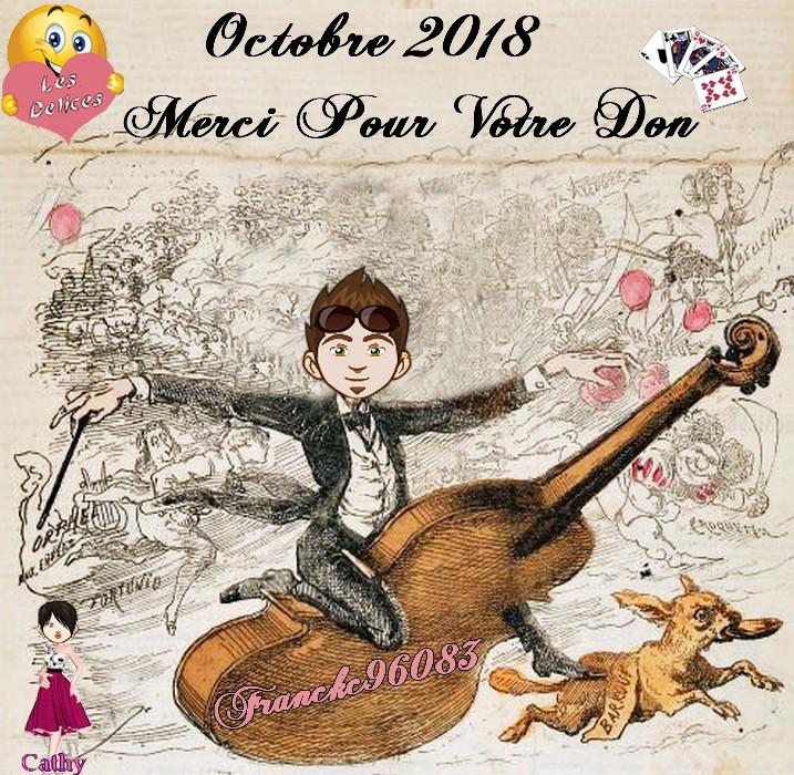 TROPHEES DONATEURS DU MOIS D'OCTOBRE 2018 Franck12
