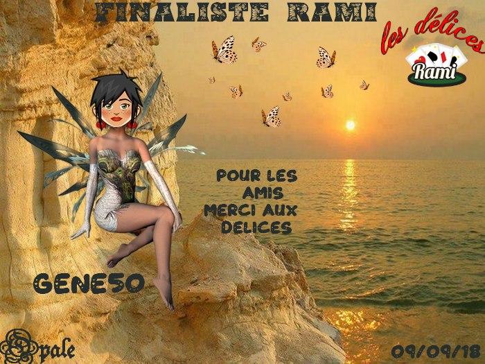 TROPHEES DE RAMI DU DIMANCHE 9 SEPTEMBRE 2018 Gene12