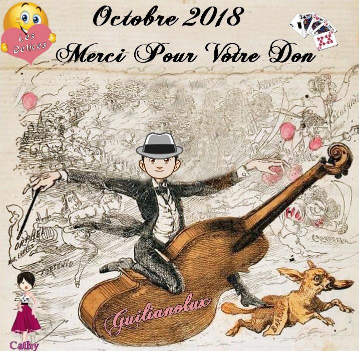 TROPHEES DONATEURS DU MOIS D'OCTOBRE 2018 Guilia11