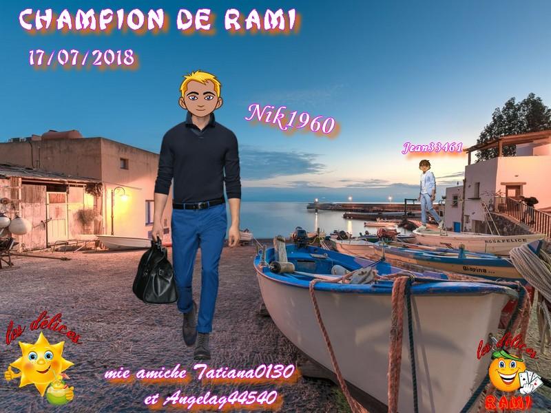 TROPHEES DE RAMI DU 17 JUILLET 2018 Trophe39
