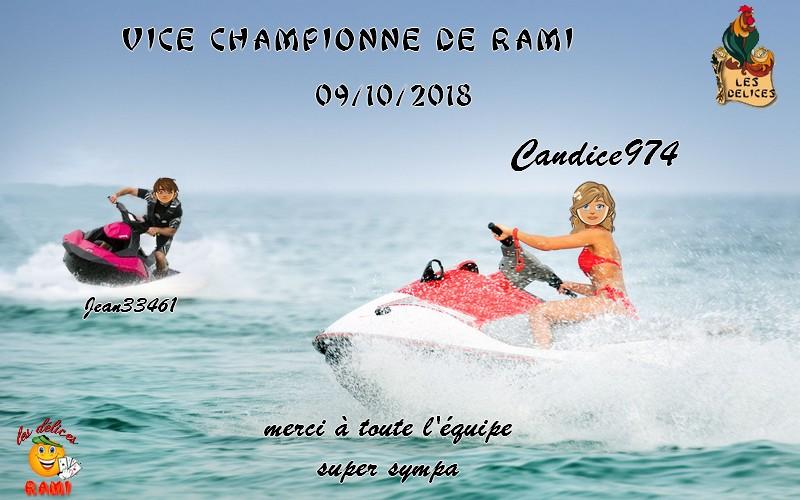 TROPHEES DE RAMI DU 09 OCTOBRE 2018 Trophe56