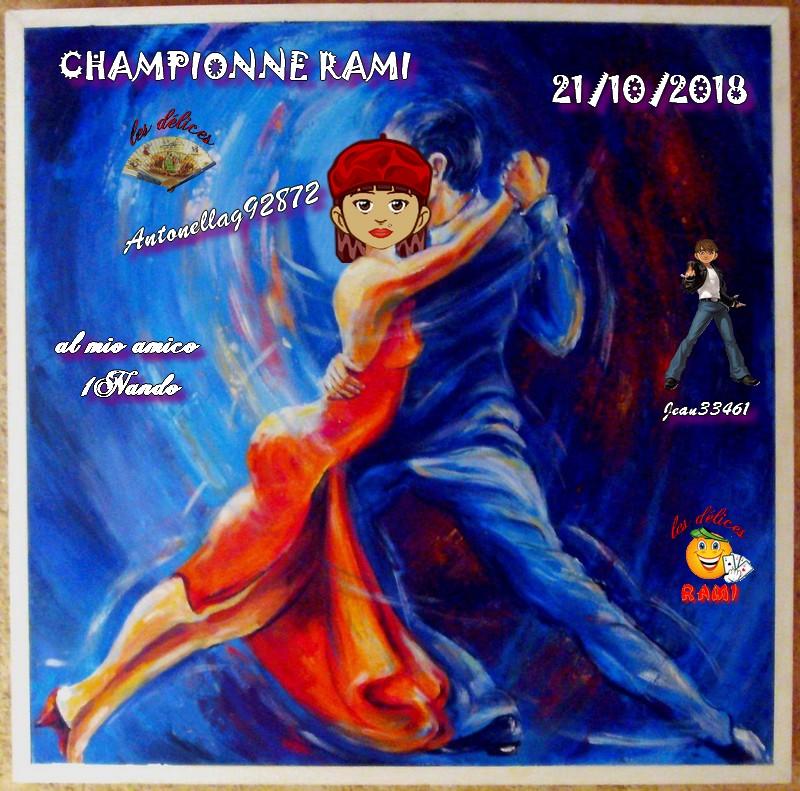 TROPHEES DE RAMI DU 21 OCTOBRE 2018 Trophe70